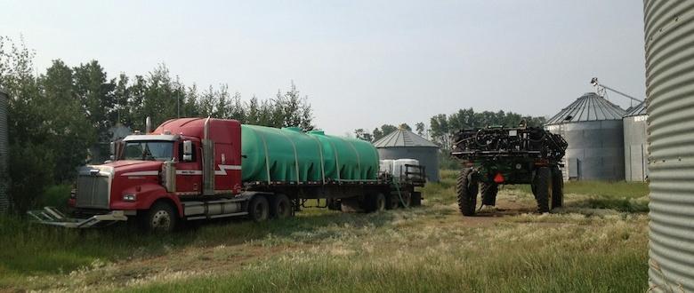 Custom Spraying | Water Truck | BC