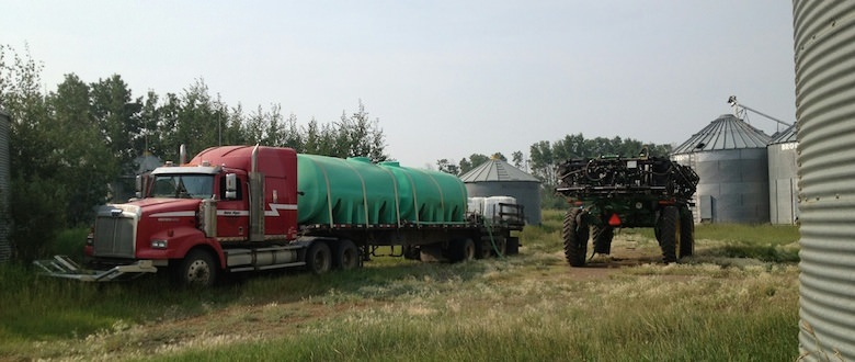 Custom Spraying | Water Truck | BC